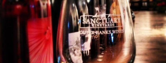 Sanctuary Vineyards is one of Vineyards, Breweries, Beer Gardens.