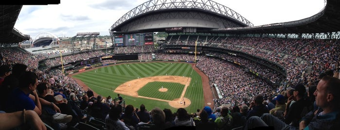 T-Mobile Park is one of Seattle.