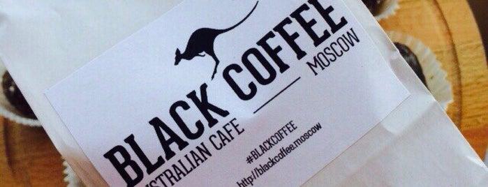 Black Coffee Australian Cafe is one of Tempat yang Disukai roma.