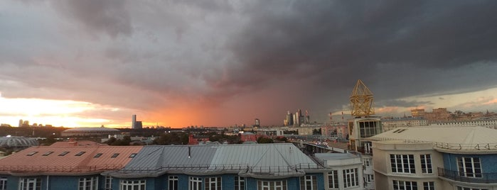 Смотровая площадка РАН is one of Posti che sono piaciuti a roma.