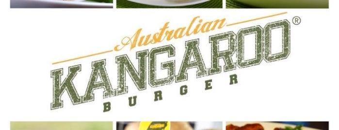 Kangaroo Australian Burger is one of Gespeicherte Orte von Camila.