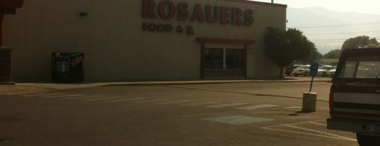 Rosauers is one of Tony's Liked Places.