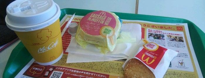 マクドナルド 24号木津店 is one of Shigeoさんのお気に入りスポット.