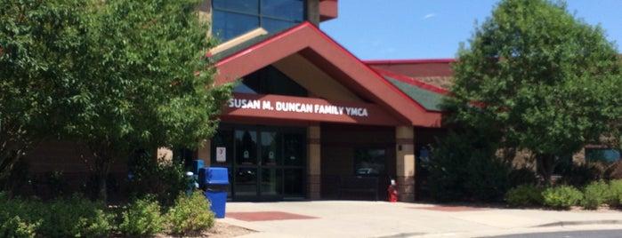 Susan M. Duncan Family YMCA is one of Orte, die Jill gefallen.