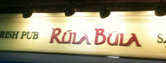 Rúla Búla Irish Pub and Restaurant is one of Orte, die Anthony gefallen.
