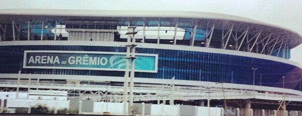 Arena do Grêmio is one of Aqui na terra tão jogando futebol.
