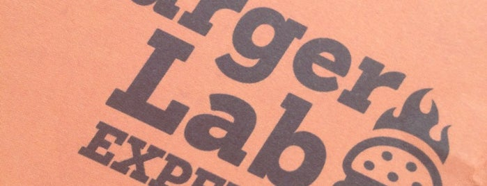 Burger Lab Experience is one of Lugares guardados de Fabio.