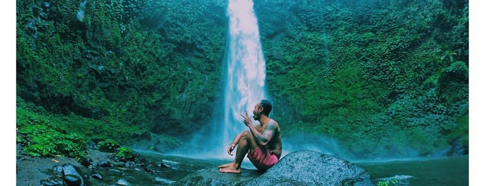 Nungnung Waterfall is one of Ubud gez.