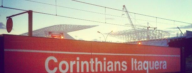 Estação Corinthians - Itaquera (CPTM) is one of Estações e Terminais.