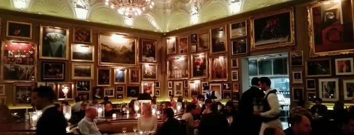 Berners Tavern is one of London.