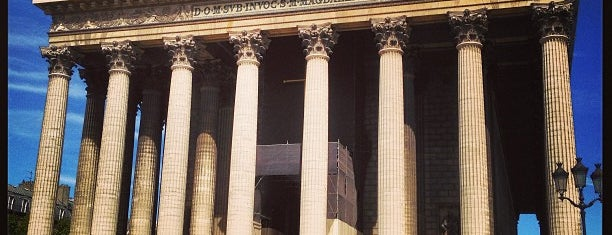 Église de la Madeleine is one of Paris.