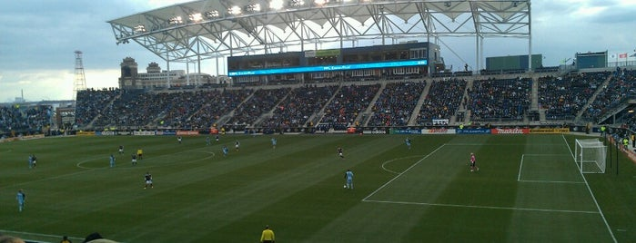 Talen Energy Stadium is one of Philly & Other PA.