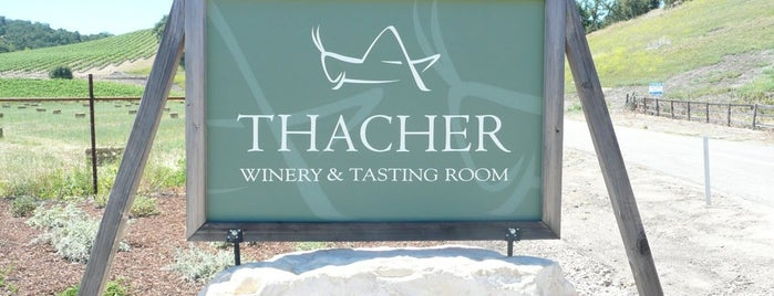 Thacher Winery is one of California.
