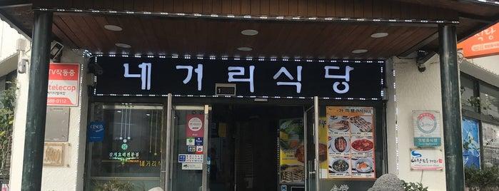 네거리식당 is one of 제주.