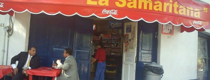 La Samaritana is one of Burgers & Jochos.