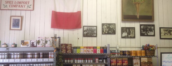 Maceo Spice & Import Co. is one of Galveston.