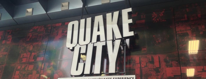 Quake City is one of Nova Zelândia 🇳🇿.