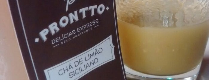 PRONTTO Delícias Express is one of Restaurantes/Bares em BH.