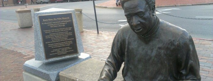 Kunta Kinta Alex Haley Memorial is one of Things to See.