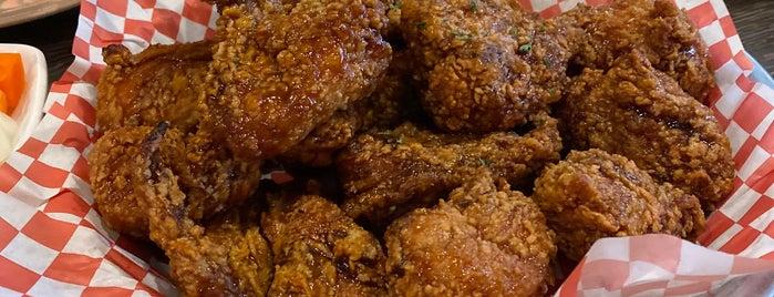 Choong Man Chicken is one of William 님이 좋아한 장소.
