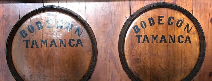 Bodegon Tamanca is one of La Palma.