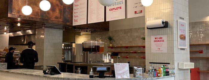 Cutlets Sandwich Co. is one of restos.