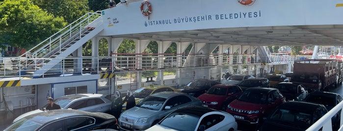 İstinye - Çubuklu Arabalı Vapuru is one of M.Metin 님이 좋아한 장소.