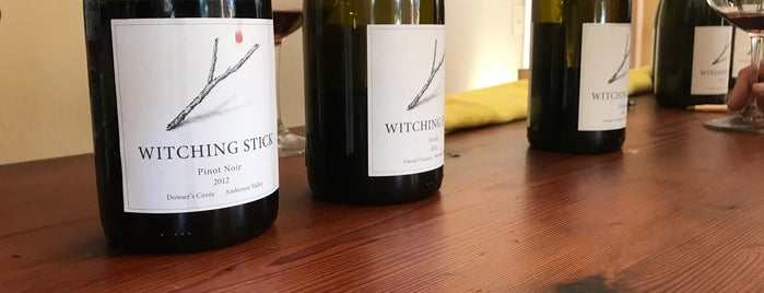 Witching Stick is one of Anderson Valley wineries.