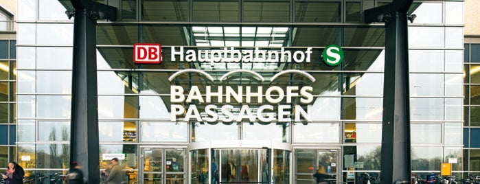 Bahnhofspassagen is one of Shopping-Center.