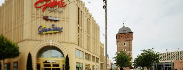 Galerie Roter Turm is one of Shopping-Center.
