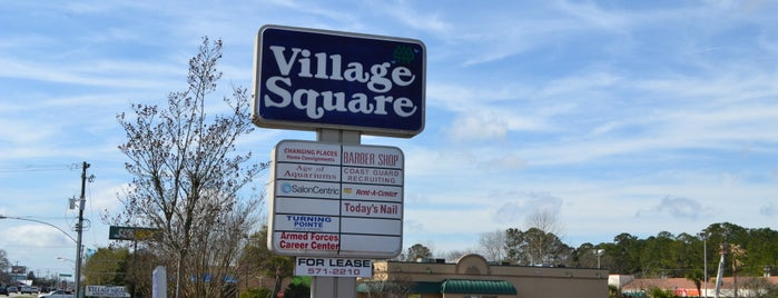 Village Square is one of Lugares favoritos de West.