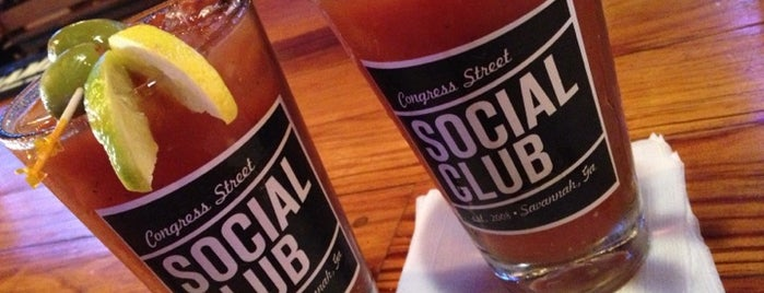 Congress Street Social Club is one of Georgia To-do list.