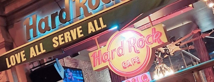 hard rock café shop is one of Stayed already.