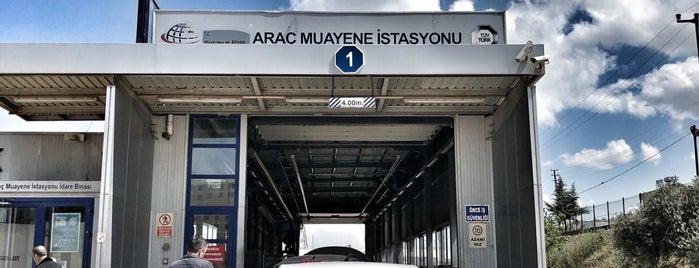 TÜVTÜRK Araç Muayene İstasyonu is one of สถานที่ที่ Cansu ถูกใจ.