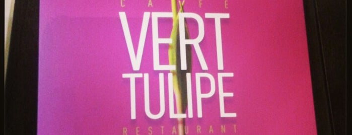 Vert Tulipe is one of Les cantines du boulot.