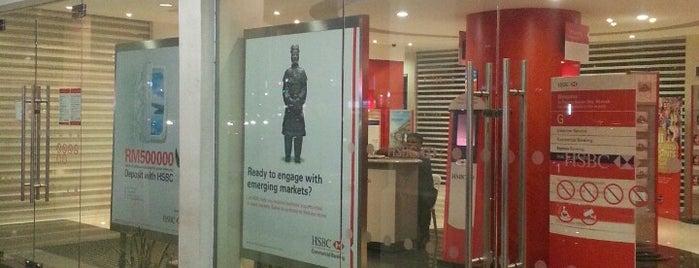 HSBC Bank is one of Lieux qui ont plu à Adrien.