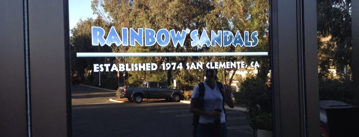 Rainbow Sandals is one of San Diego, California.