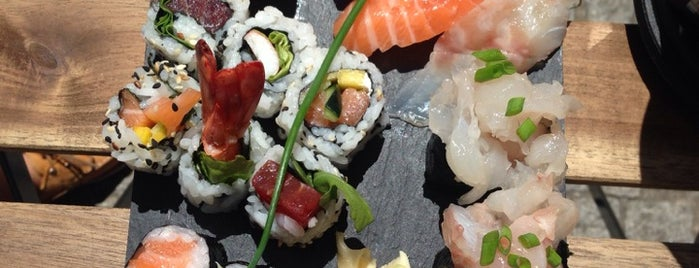 Sushi no Mercado is one of Best Japanese Restaurants in Portugal.