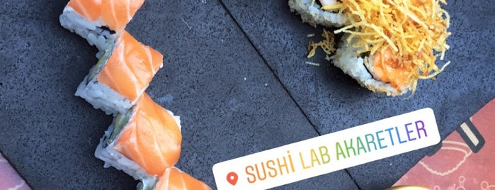 Sushi Lab Akaretler is one of İstanbul 2019.