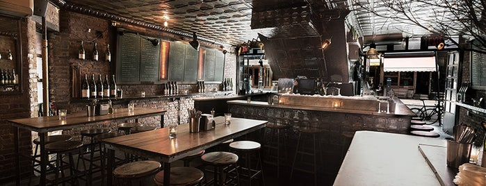 The Ten Bells is one of 20 Outstanding Oyster Happy Hours in NYC.