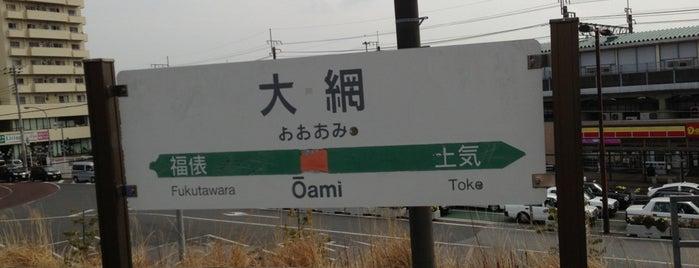 Ōami Station is one of JR 키타칸토지방역 (JR 北関東地方の駅).