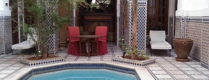 Marrakech -riad esprit du maroc is one of Nous Year's Yves (Morocco & Paris).