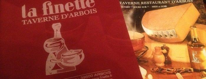 La Finette - Taverne d'Arbois is one of Lieux sauvegardés par Herve.