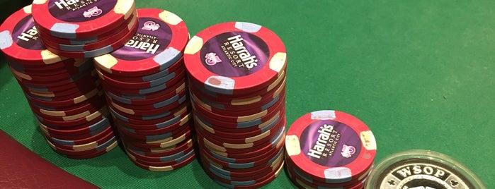Poker Room is one of Caesars Atlantic City.