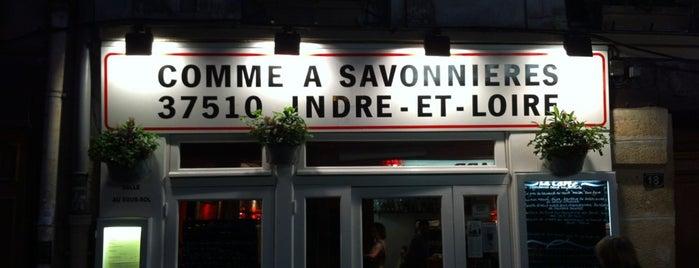 Comme à Savonnières is one of Coups de cœur.