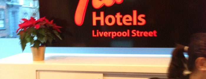 Tune Hotel Liverpool Street is one of #LoveE1.