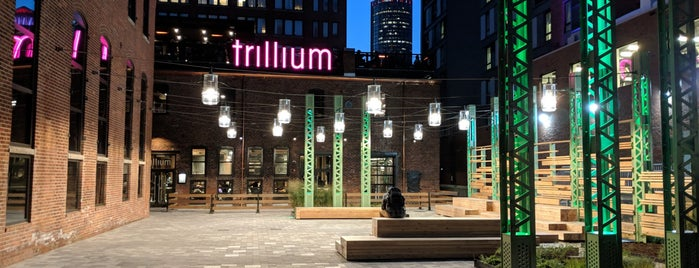 Trillium Brewing Company is one of Boston, MA.