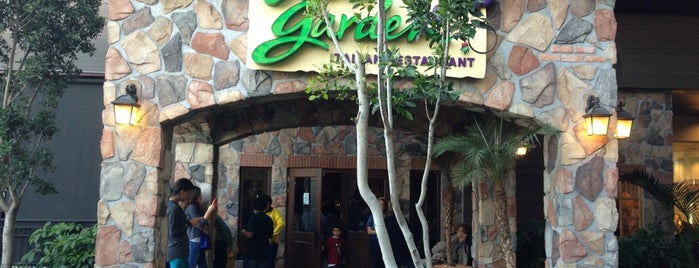 Olive Garden is one of INTERLOMAS.