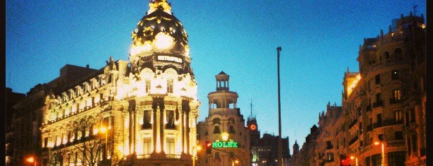 Calle de Alcalá is one of Madrid.