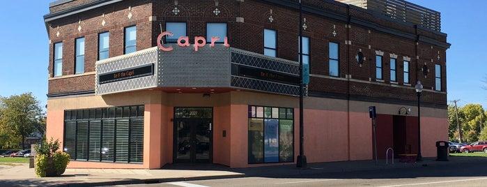 Capri Theater is one of johnさんのお気に入りスポット.